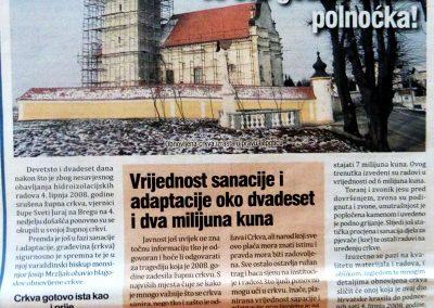 IZ MEDIJA - Gradnja crkve u Sv. Jurju na Bregu (4)