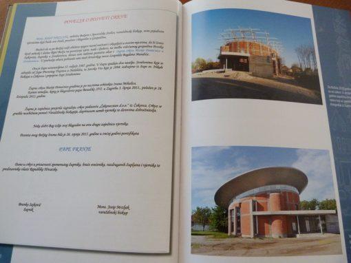 Izgradnja crkve u Strahonincu