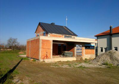 Obiteljska kuća u izgradnji - Strahoninec (2)