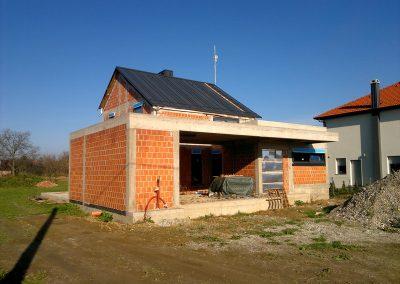 Obiteljska kuća u izgradnji - Strahoninec (3)